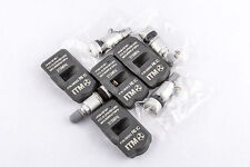 Set 4 TPMS Tire Pressure Sensors 315Mhz Metal for 05-12 Nissan Frontier