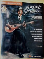 Signature Licks: Robert Johnson - Signature Licks : A Step-by-Step Breakdown of the Legendary Guitarist's Style and Technique by Dave Rubin (2000, CD / Paperback)