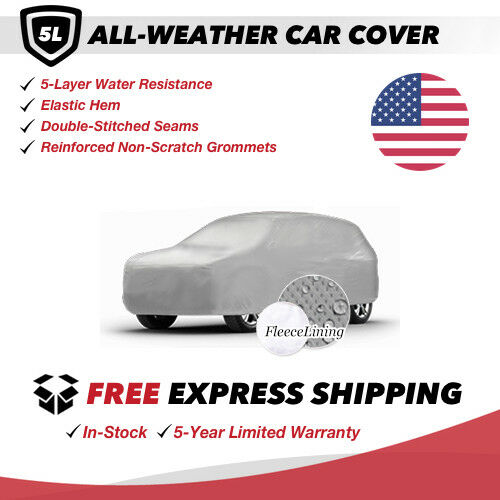 All-Weather Car Cover for 1970 Jeep CJ5 Sport Utility 2-Door