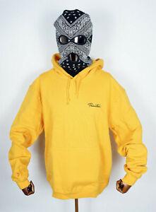 Primitive Skateboards Hooded Hoodie Sweater Sweatshirt Mini Nuevo Gold in L