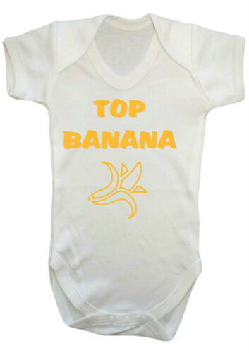 GIVE OUT GIRL TOP BANANA  tv comedy humour funny Baby Bodysuit.Vest,baby grow