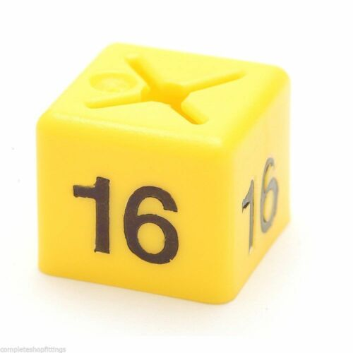 BRAND NEW GARMENT CLOTHES MARKER SIZE CUBES PACK OF 50 EACH AVAILABLE ALL SIZE