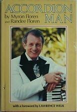 MYRON FLOREN BIOGRAPHY, 1981 FIRST EDITION BOOK (ACCORDION MAN