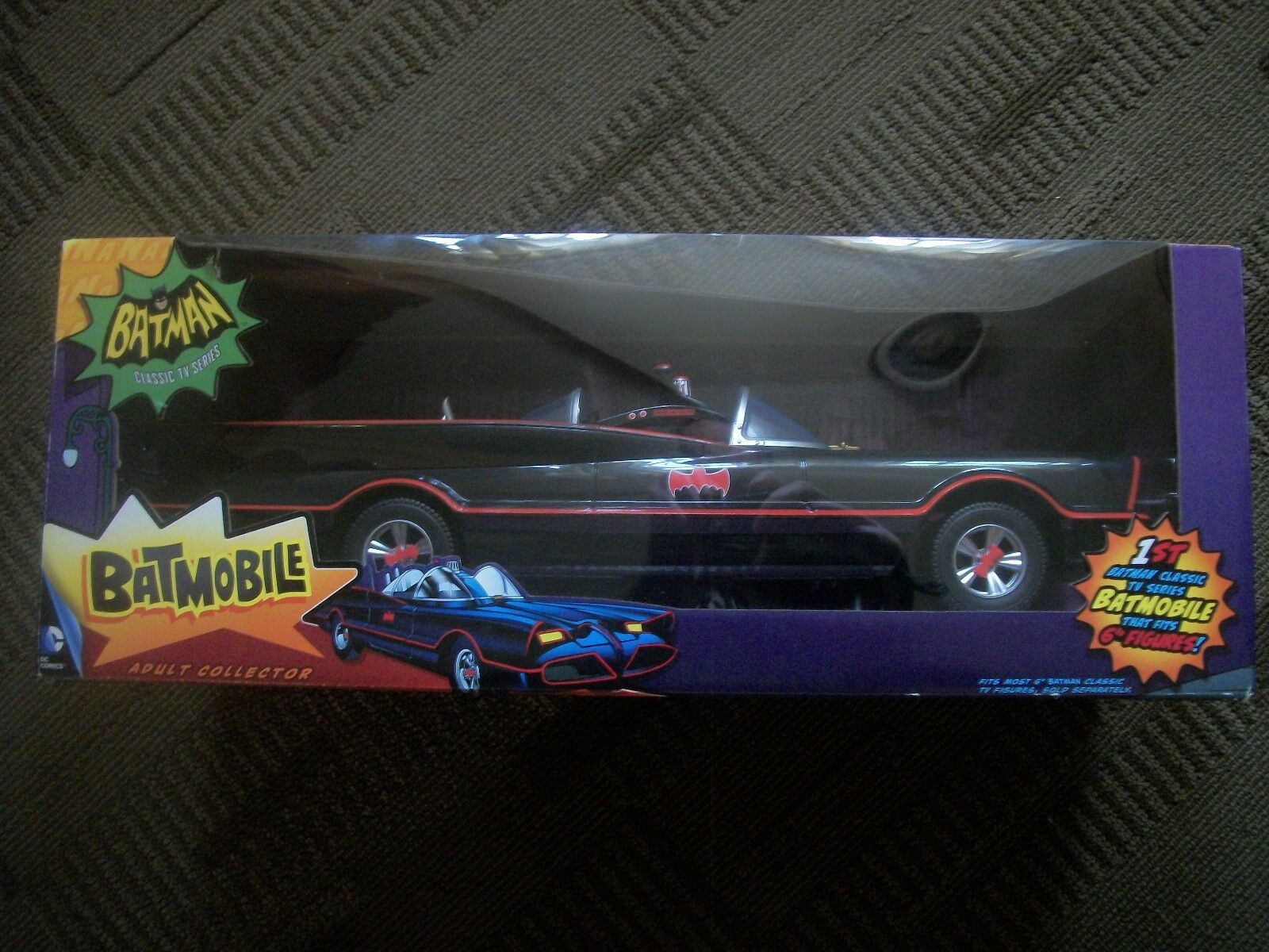 BATMOBILE --DC COMICS ADULT COLLECTOR CAR-- SEALED