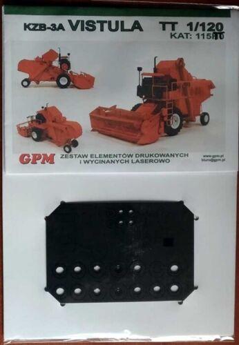 Bausatz LaserCut GPM 115TT Mähdrescher VISTULA KZB-3A TT