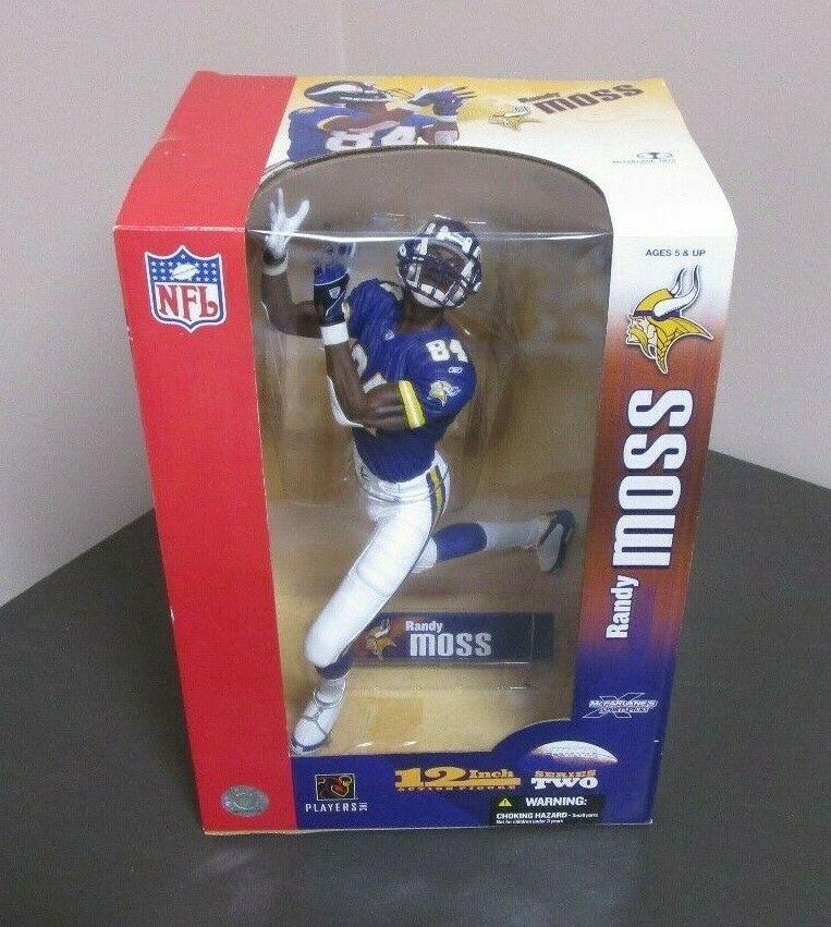 Randy Moss 2004 Vikings 12 MCFARLANE SPORTS Collector's Club Exclusive GV