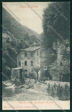 Como Argegno Ponte Vecchio cartolina EE7887