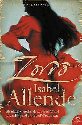 1 of 1 - Zorro: The Novel by Isabel Allende (Paperback, 2006)