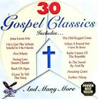 30 Gospel Classics [Gusto] by Various Artists (CD, May-2006, Gusto Records)