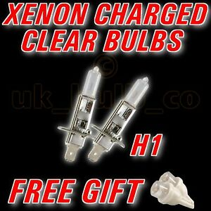 Jaguar X-Type 55w Super White Xenon HID Low Dip Beam Headlight Bulbs Pair
