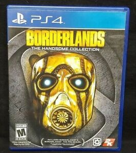 Borderlands Handsome Collection  - PS4 Sony Playstation 4 GAME Tested Working