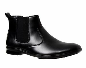 NEW-Mens-GROSBY-OTIS-Black-Dress-FORMAL-CASUAL-WORK-SHOES-CHEAP-BOOTS-STYLISH