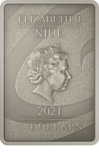 Cash on delivery is impossible 2021 - 1 oz Silver Proof