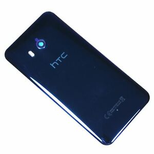 OEM-Glass-Housing-Battery-Back-Door-Cover-Rear-Camera-Lens-For-HTC-U11-Blue