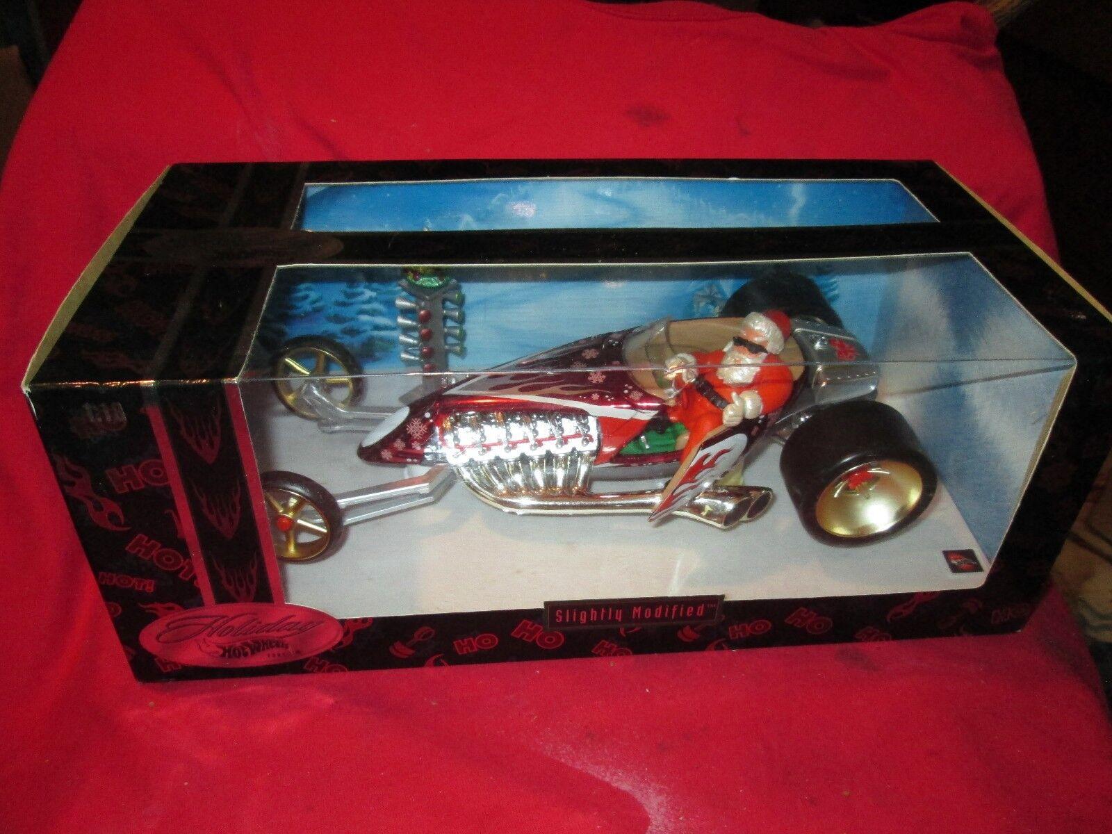Holiday Hot Wheels Hotwheels 2002 Santa's Speedster 1 18 Scale RARE cool santa
