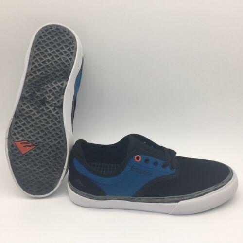 "Emerica Men/'s Shoes /""Wino G6 X Deathwish/'/'--Black//Blue//White"