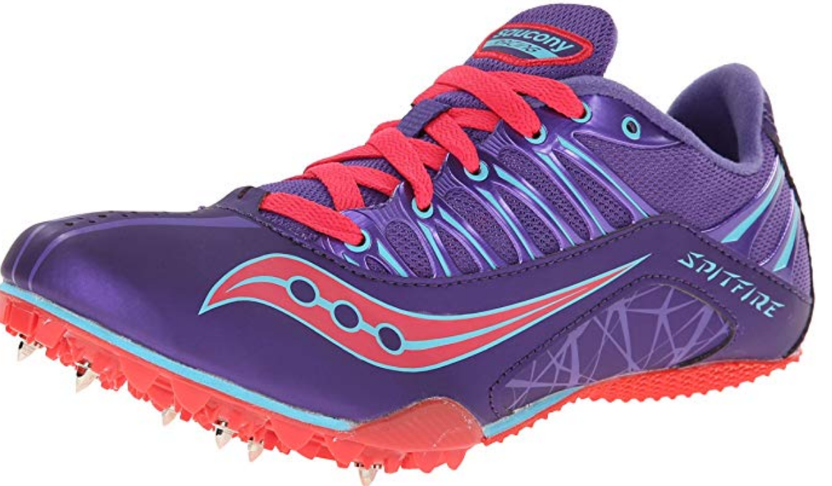 Saucony Spitfire 3 Sz 8 M (B) EU 39 Women's Track Running shoes Purple S19018-1