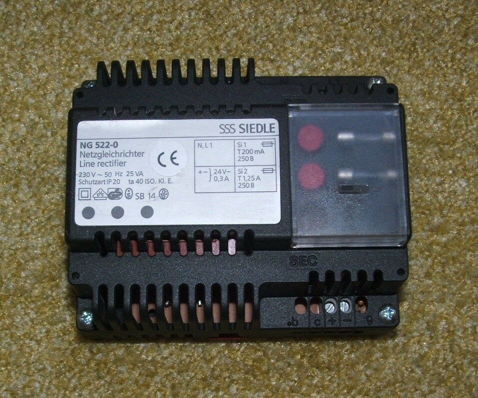 Siedle NG 522-0 Netzgleichrichter ,Trafo ,sehr gut