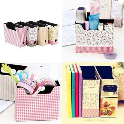 Cute Makeup Cosmetic Stationery DIY Paper Board Storage Desk Decor Organizer GH