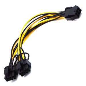 Video-card-6pin-to-Double-8pin-6pin-2pin-connector-cable-extention-cables-amp-lF-u