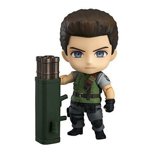 Good Smile Company Nendoroid 681 Resident Evil CHRIS rossoFIELD Action Figure