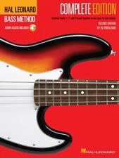 Hal Leonard Bass Method - Complete Edition Books 1 2 and 3 Bound Together in
