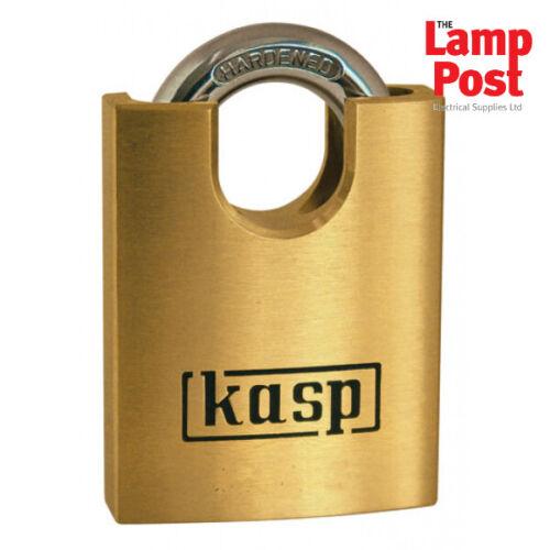 50mm Close Shackle CK Tools Kasp K12550XD Premium Security Brass Padlock