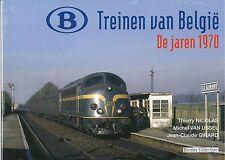 Nicolas Collection nc5nl libro SNCB treinen van België de jaren 1970 nuevo + embalaje original
