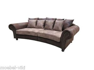 big sofa hawana kolonialstil megasofa couch ebay. Black Bedroom Furniture Sets. Home Design Ideas