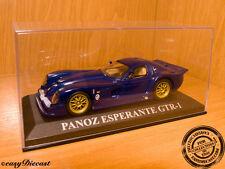 IXO JUNIOR 1:43 PANOZ ESPERANTE GTR-1 BLUE   AWESOME CIXJ000036 OLD SHOP  STOCK