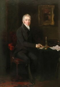 Portrait-of-a-Gentleman-Antique-Oil-Painting-19th-Century-English-School