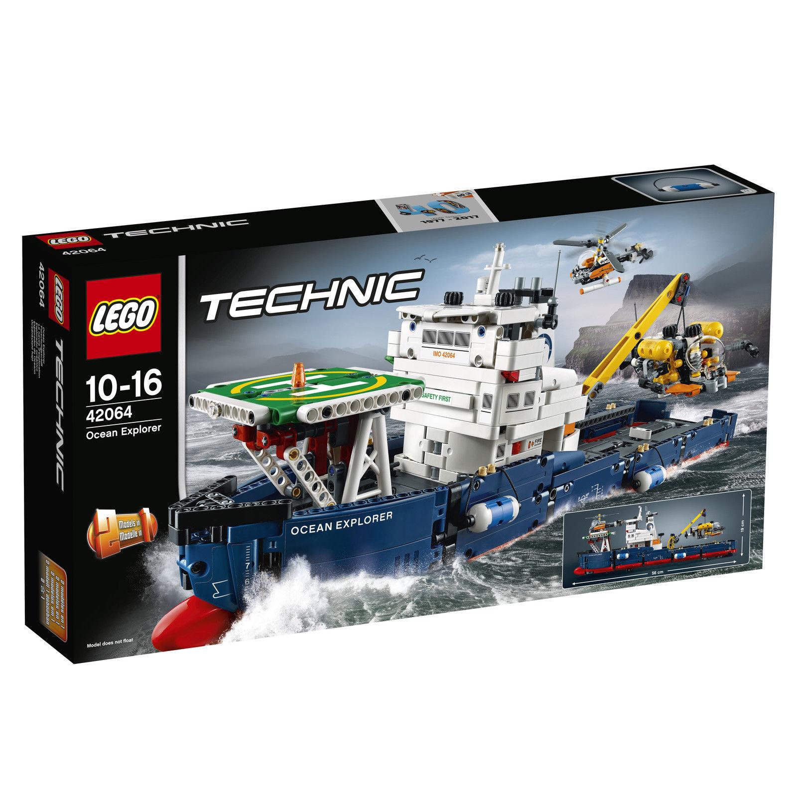 Lego Technic barco de investigación (42064) nuevo en el embalaje original