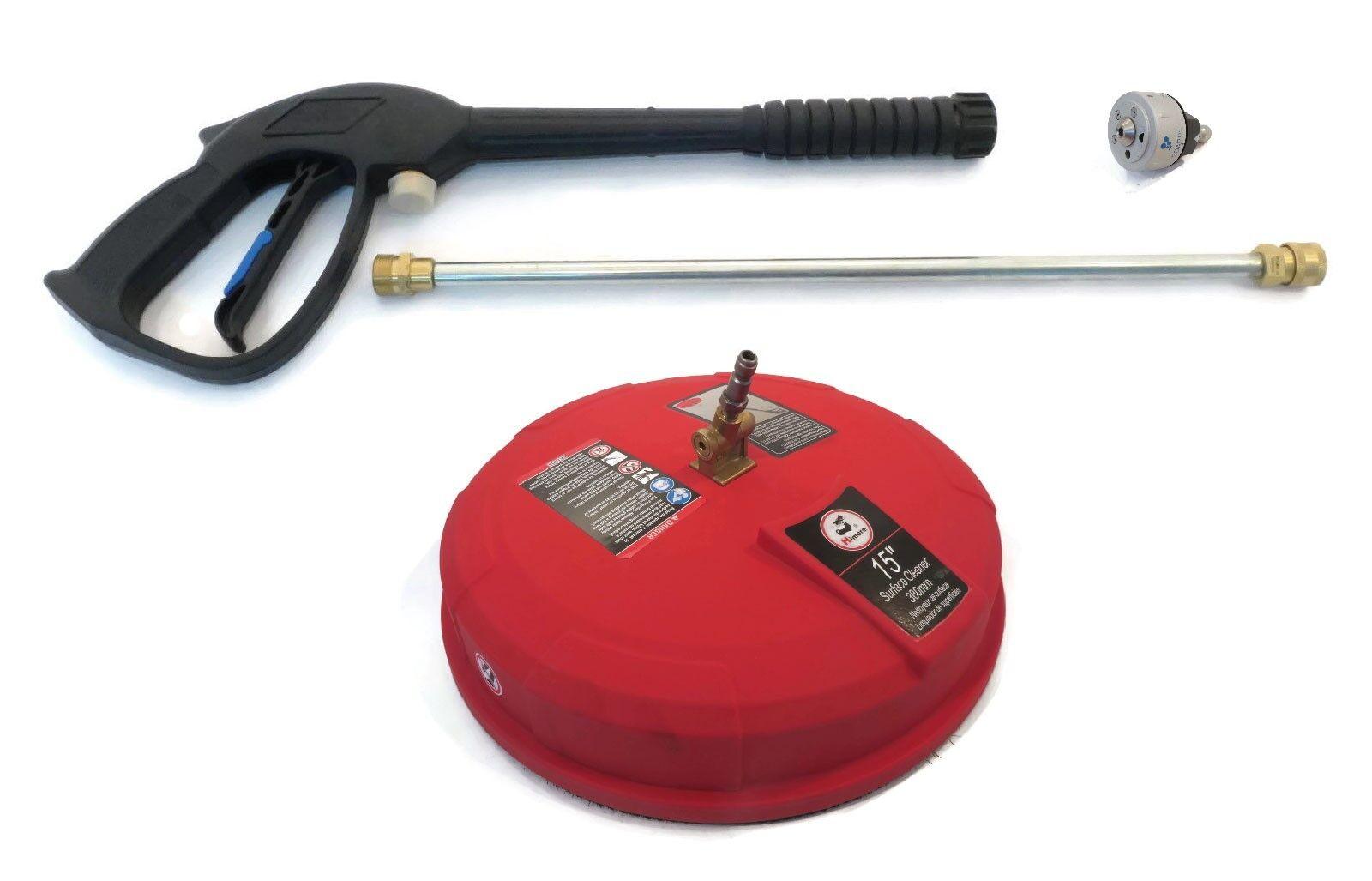 Nueva Pistola Rociadora, Varita, 5 en 1 Boquilla y súperficie limpia kit se ajusta himore 309515003