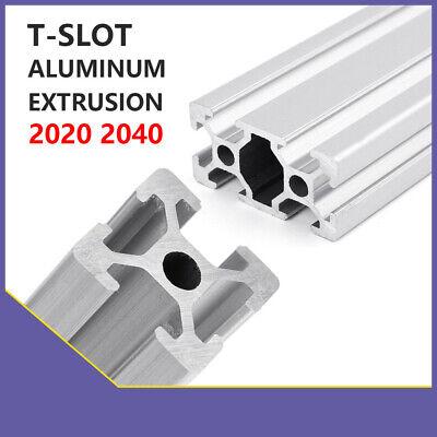 20x40 T-Slot Aluminum Extrusion 6 Profile Rail CNC 3D Printer Shaft  Support