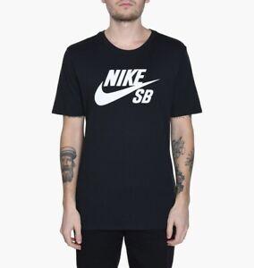 Nike-SB-Tee-Logo-Black-White-Mens-Skateboard-T-Shirt