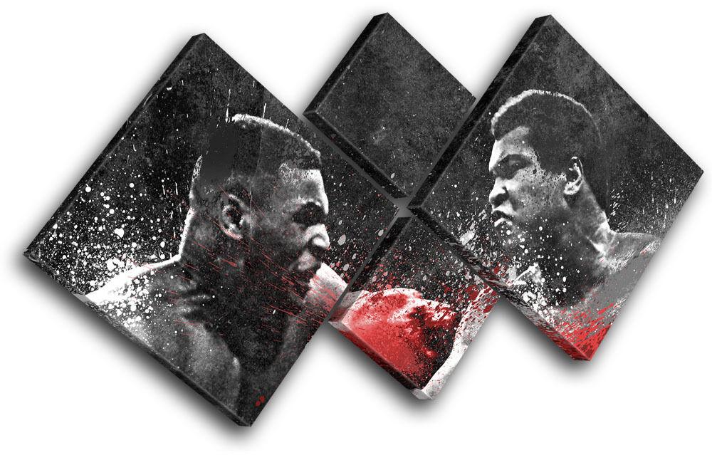 Dream Dream Dream Fight Boxing Ali Tyson Sports MULTI TELA parete arte foto stampa 2e8530