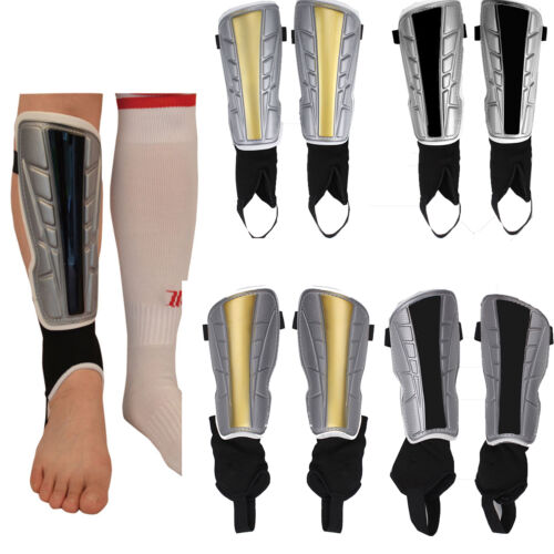 2pcs Adult Football Legs Shin Pads Soccer Guards Sports Ankle Brace Protector