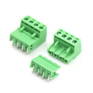 20pcs-5-08mm-Pitch-4Pin-Plug-in-Screw-PCB-Terminal-Block-ConnectorSC