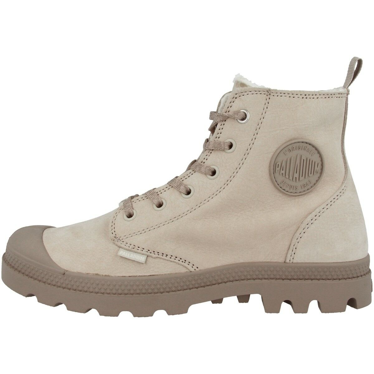Palladium Pampa Hi Zip Wl Leather Boots Trainers Padded 95982-071