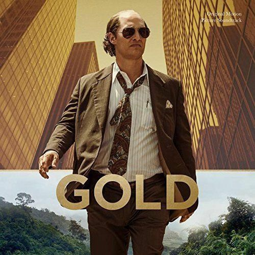 GOLD Original Motion Picture Soundtrack (2017) CD album NEW/SEALED IGGY POP