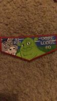 Boy Scouts Jersey 2010 Ogre Lodge 0 Iron On Patch 2x5 Inch Nice