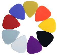100 x Assorted Plain Guitar Picks - Hand Held Plectrum Tool String Instruments