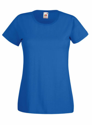 2XL 18 COLORI FRUIT of the Loom Lady-Fit Valueweight T-shirt Girocollo-S