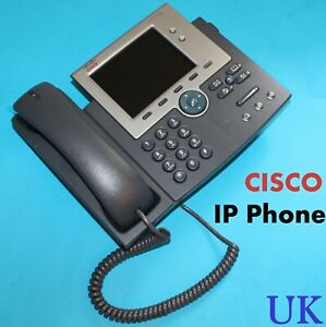 Details about Cisco IP Phone 7945 VoIP IP Telephone Desk Phone - Model :  CP-7945G