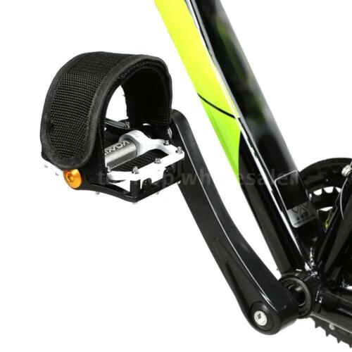 1 PC Cycling Bicycle Fixed Gear Pedal Band Feet Set w// Strap Beam Foot Bike Belt