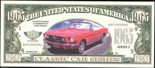 1965 Dollars Fantasy Note