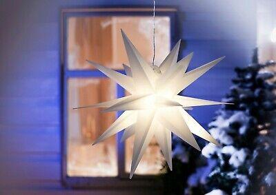 Led Weihnachtsstern Advents Stern Aussen Timer Garten