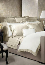 NEW Ralph Lauren Langdon Border 624 White Hollywood Cream KING Pillow Sham $145