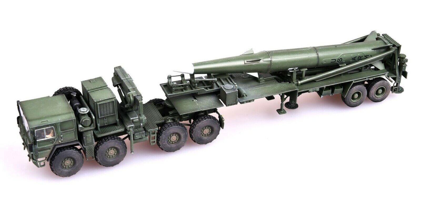 MODELCOLLECT 1 72 US Man M1001 tracteur et  Pershing II Tactique missile  AS72101  livraison gratuite