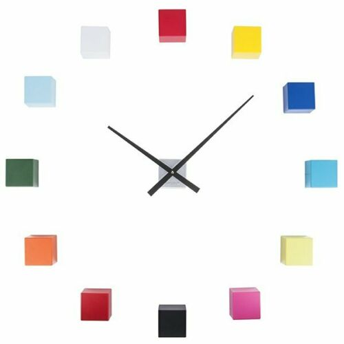 Karlsson Wanduhr DIY Cubic Multicolour